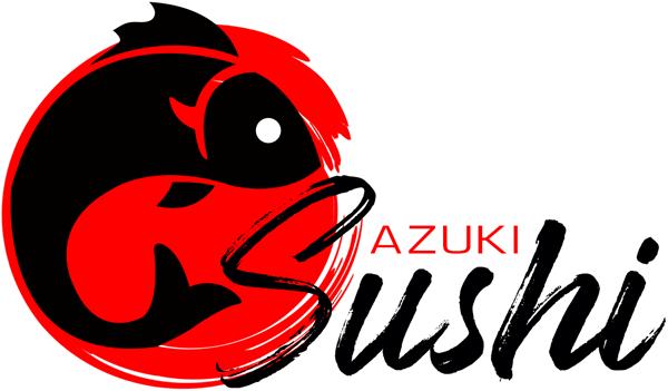 Azuki Sushi logo