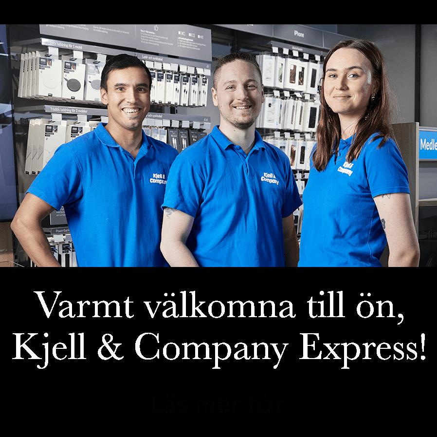 Varmt välkomna till ön, Kjell & Company Express! Läs mer här